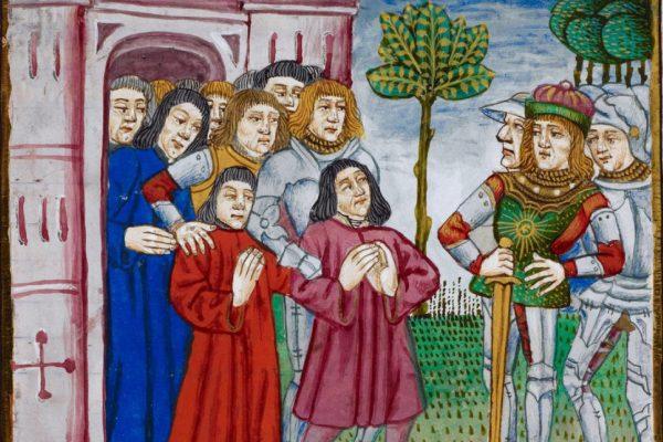 Emociones políticas en la Edad Media. Cartel
